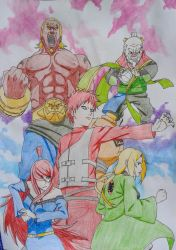 Five kages by Ethel106