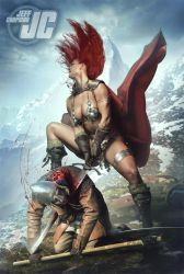 Red Sonja: Ecstasy of the Kill by Jeffach