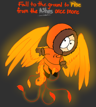 The Phoenix child of South Park by cyngawolf