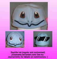 Squirtle hat by PokeMama