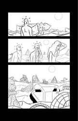Captain Cushing #1 Page 20 Inks by SKumpf