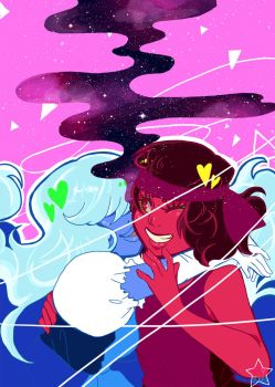 ruby and sapphire by jewelians
