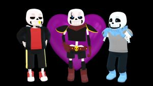 MMD Swapfell Sans - [CLOSED DL] by MaiteRitsuki