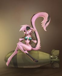 Vi Bombshell Pinup by Dreamkeepers