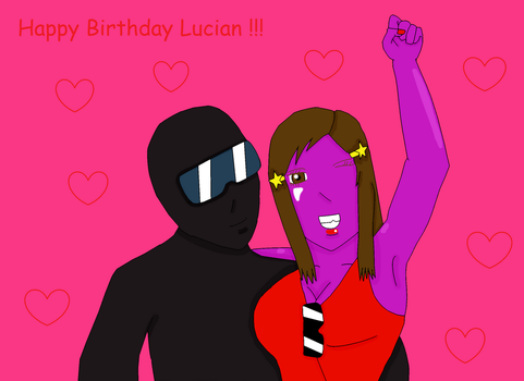 Happy Birthday, Lucian ! by judiantart510