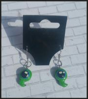 Jacksepticeye - Septic Sam Earrings by Queen-Of-Cute