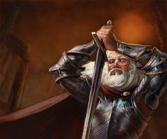 Barristan Selmy - GoT by thegryph