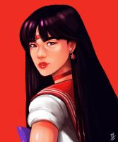 Sailor Mars by oOCherry-chanOo