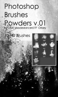 Shades Powders v.01 HD Photoshop Brushes by shadedancer619