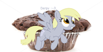 Derpy hooves- MUFFIN LOVER by KittenLover1324