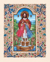 Christ the Fount of Life by Theophilia