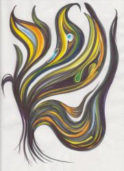 Marker Swirling by versonova