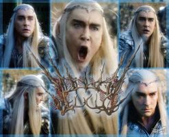 Thranduil Lee Pace by OlgaVPirogova
