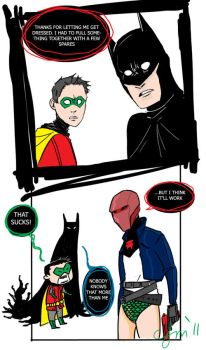 Jason Todd to the Rescue by Microbluefish