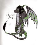 Nolhyaa the dragon by Popuche