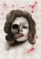 Marilyn Monroe by xBlack-Outx