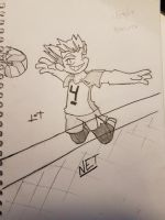 Bokuto- Spike Position by JazCooper