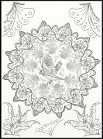Page11 of Australian Birds Adult Coloring Book by LorraineKelly