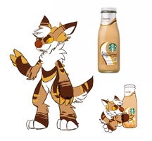 [custom] S'mores Frappuccino Monster by glitchgoat