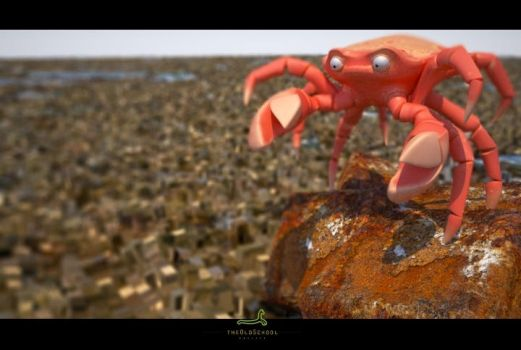 Crab by ARTOFTHEOLDSCHOOL