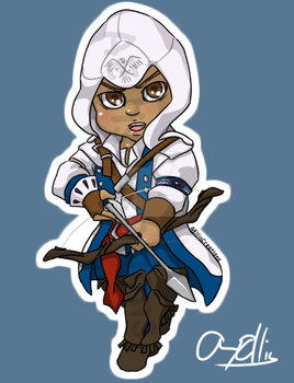 Chibi's-Connor-Assassin's Creed by Blasianscreed