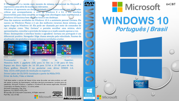 Windows 10-64 Bits by Fabiocollection