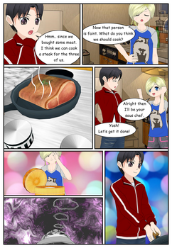 My life in Japanese School - Episode 4 Page 35 by Afnan-kun