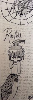 Renfield Bookmark by wolf--eyes