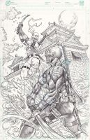storm shadow vs snake eyes by BienFlores