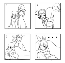 My hair.... oh... no... by loli-drop