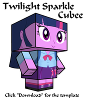 Equestria Girls Twilight Sparkle Cubee by Botchan-MLP