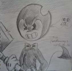 Bendy with axe by westhemime