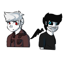 [GFT] Demonic Dorks by ThatCreativeCat