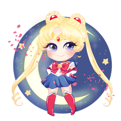 Sailor Moon by PenAsteria