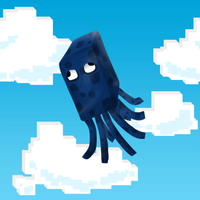 Flying Squid - MineCraft by ChrisL21