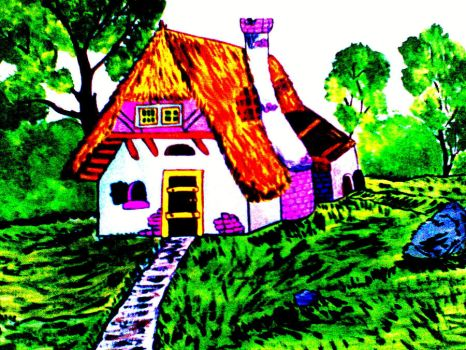 Story house by MademoiselleDL