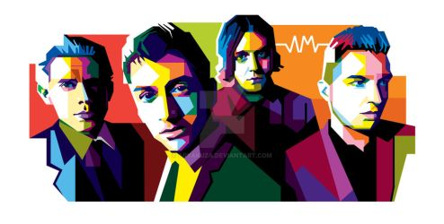 Arctic Monkeys in WPAP by aryakuza