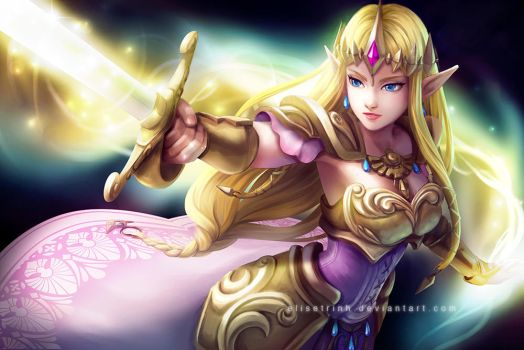 Hyrule Warriors - Princess Zelda by elisetrinh