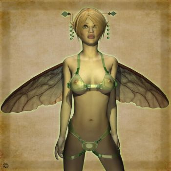 Tinker Bell by parkerunfolded