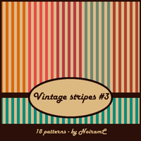 Vintage stripes #3 by NoiramC