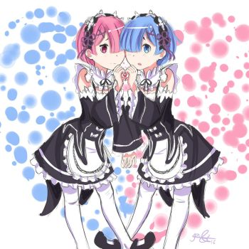 Rem and Ram by 1Razor1