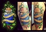 The Truth (Legend of Zelda tattoo) by Purrdemonium