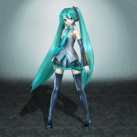 Music Girl Hatsune Miku by ArmachamCorp