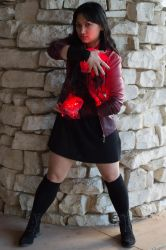 Scarlet Witch cosplay (PAX South 2016) by ashweez