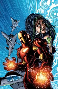 Iron Man Hypervelocity cover by DaneRot