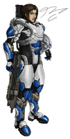Commission - Spartan Jesse18 by Guyver89