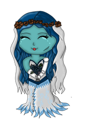 Chibi Emily- Corpse Bride by kyliesmiley1998