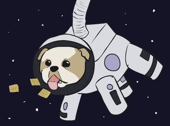 Space Dog by Teh-Lady-Randomness