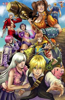 Seven Deadly Sins by TyrineCarver