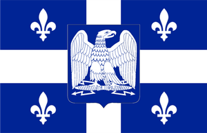 Flag of the Empire of Quebec by AlexanderAbelard